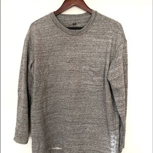 Uniqlo Grey Sweatshirt